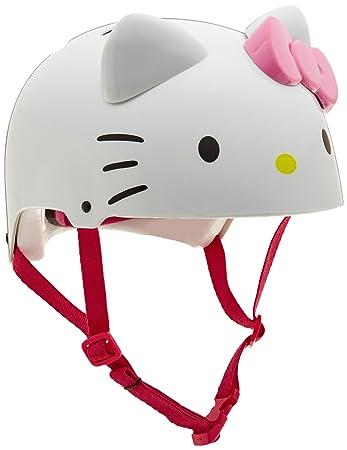 Amazon.com: Bell Hello Kitty Child Bike Helmet: Sports ...