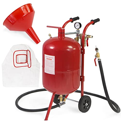 The Xtreme power US 10 Gallon Air Sand Blaster with Ceramic Tips