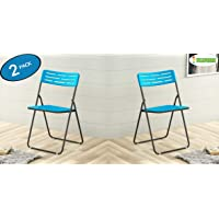 Flipzon Metal & Plastic Multipurpose Comfort Folding Chair, Pre-Assembled, Outdoor-Indoor