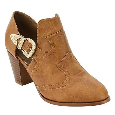 02aff8024b Mata Shoes - Stivaletti donna , marrone (Tan), 38 EU: Amazon.it ...