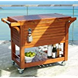 Amazon Com Tommy Bahama 100 Qt Stainless Steel Rolling