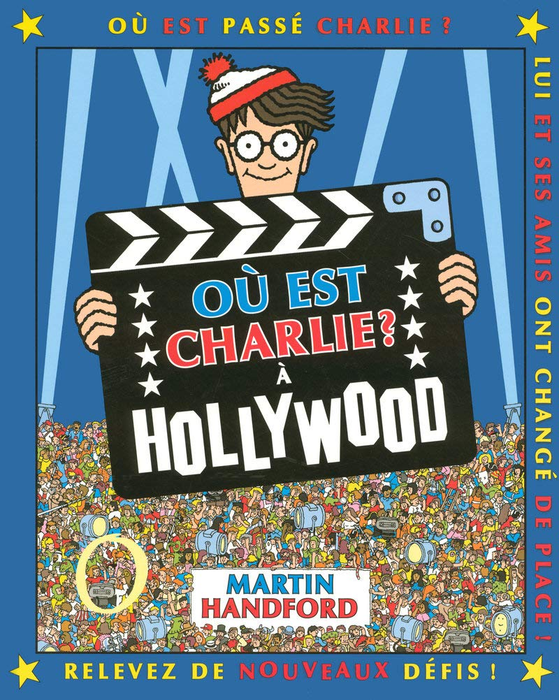 Ou Est Charlie A Hollywood Amazon Fr Martin Handford Livres