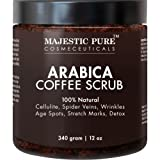 Amazon Price History for:Majestic Pure Arabica Coffee Scrub, 12 Oz - Natural Body Scrub for Skin Care, Stretch Marks, Acne & Anti Cellulite Treatment, Helps Reduce Spider Veins, Eczema, Age Spots & Varicose Veins