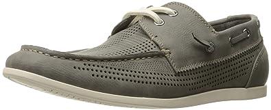 f896d3d24 Madden Men s M-guppi Boat Shoe Grey 8.5 M US