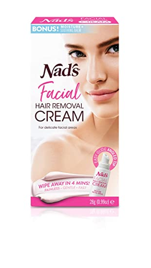 Amazon Com Nad S Facial Hair Removal Cream Gentle Soothing