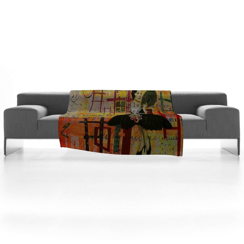 Deny Designs Irena Orlov Paris Fashion 1 Fleece Throw Blanket 60 x 80