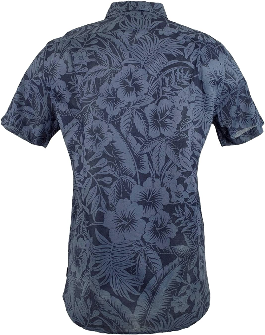 Extra Large Blue Polo Ralph Lauren Slim Fit Floral Button-Down Shirt