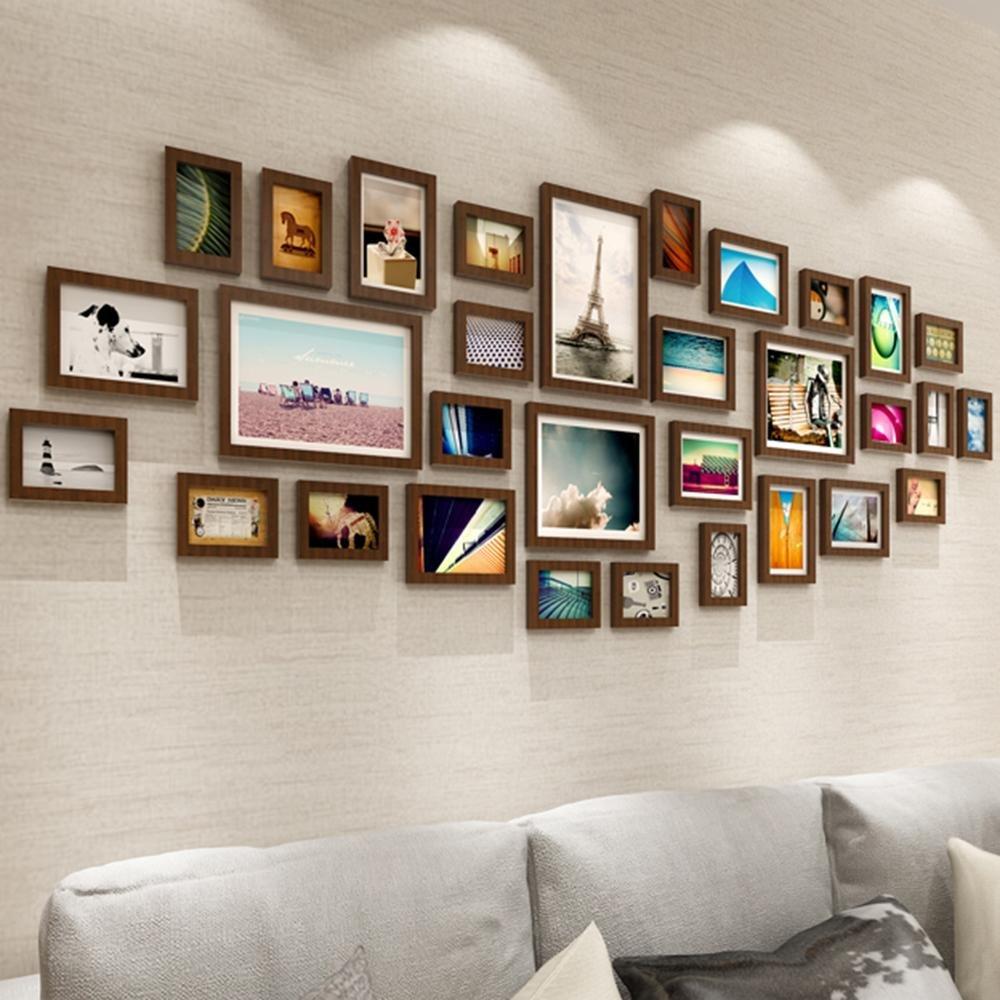 Zui&xiaoyao Dekorrahmen 31pcs / Set Collage Bilderrahmen Set ...
