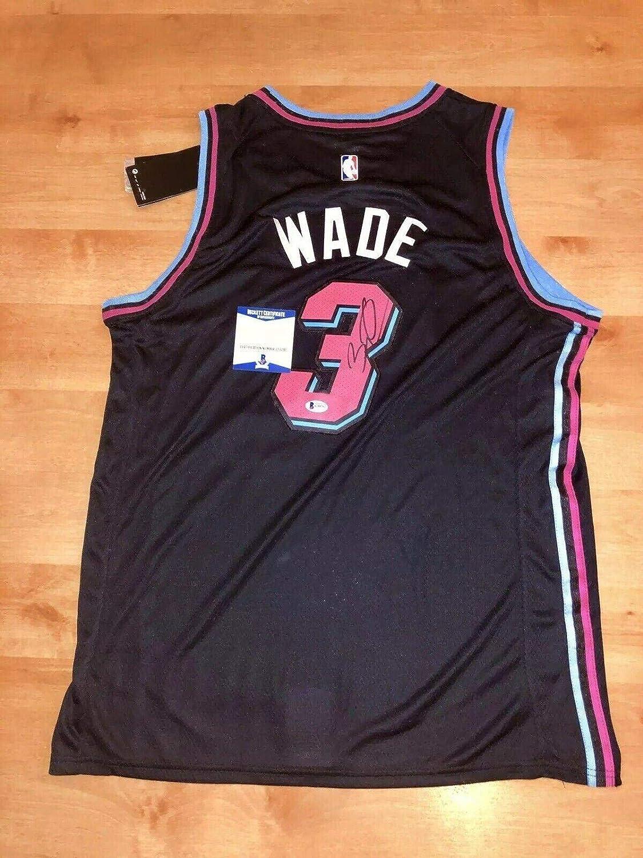 promo code 63de7 c0d11 Signed Dwyane Wade Jersey - Vice Beckett Cert Bas - Beckett ...