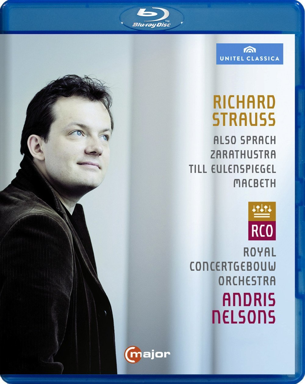 Strauss: Also Sprach Zarasthustra, Macbeth & Till Eulenspiegel [Blu-ray]