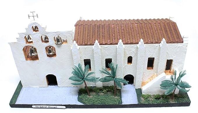 California Mission Model Kit San Gabriel Arcangel