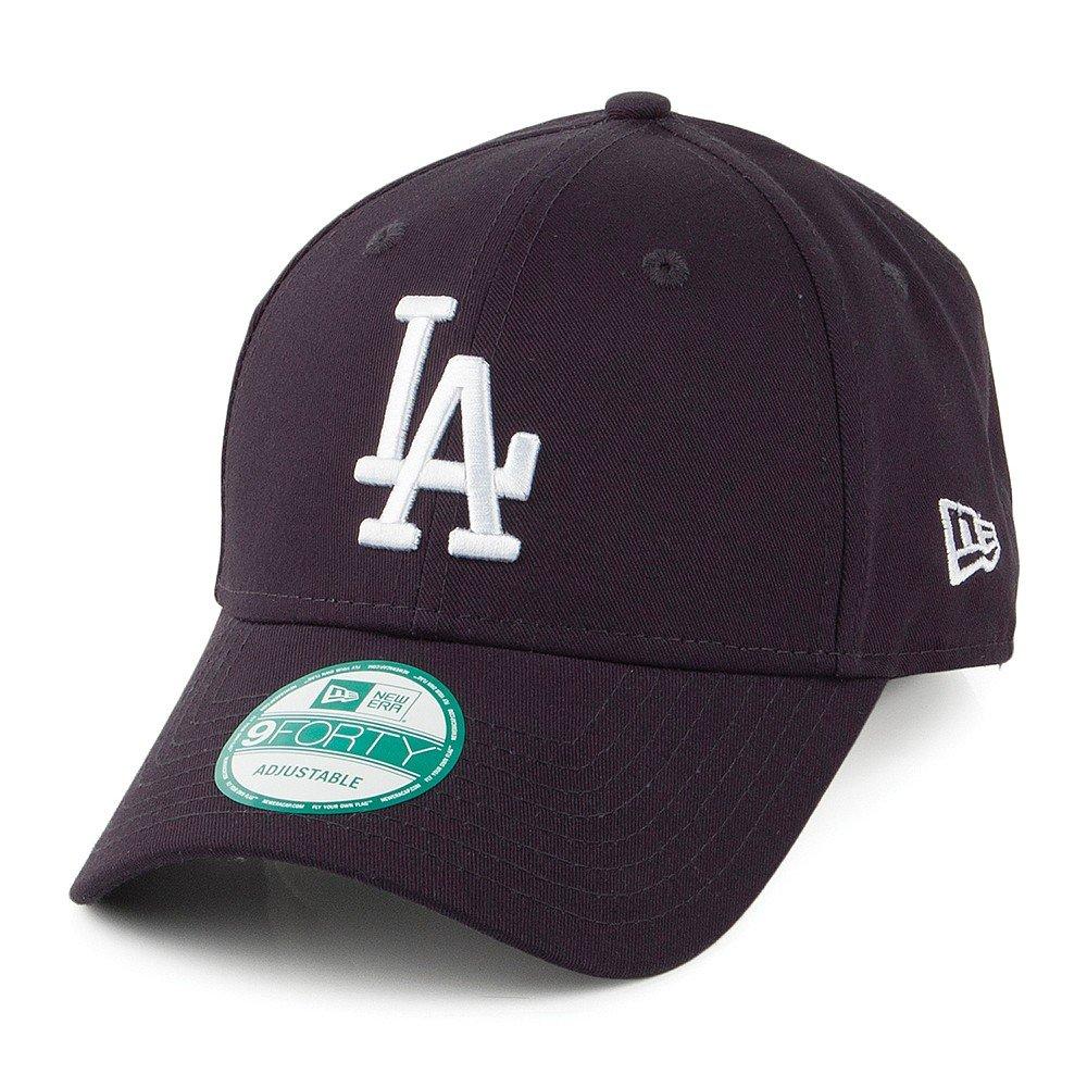 New Era 9FORTY L.A. Dodgers Baseball Cap - League Basic - Navy Navy ... a93f60587ef