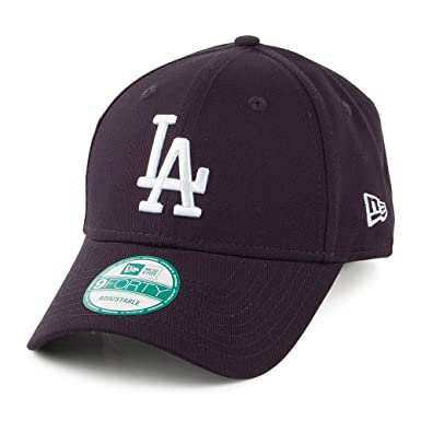 New Era 9FORTY L.A. Dodgers Baseball Cap - League Basic - Navy Navy ... cabf1a6dfe8