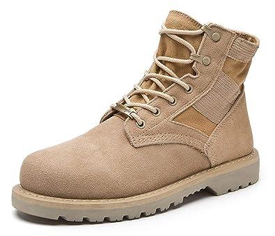 e344a5b59ae9b Amazon.com: Women Boots Suede Desert Bootie Chukka Boot Military ...