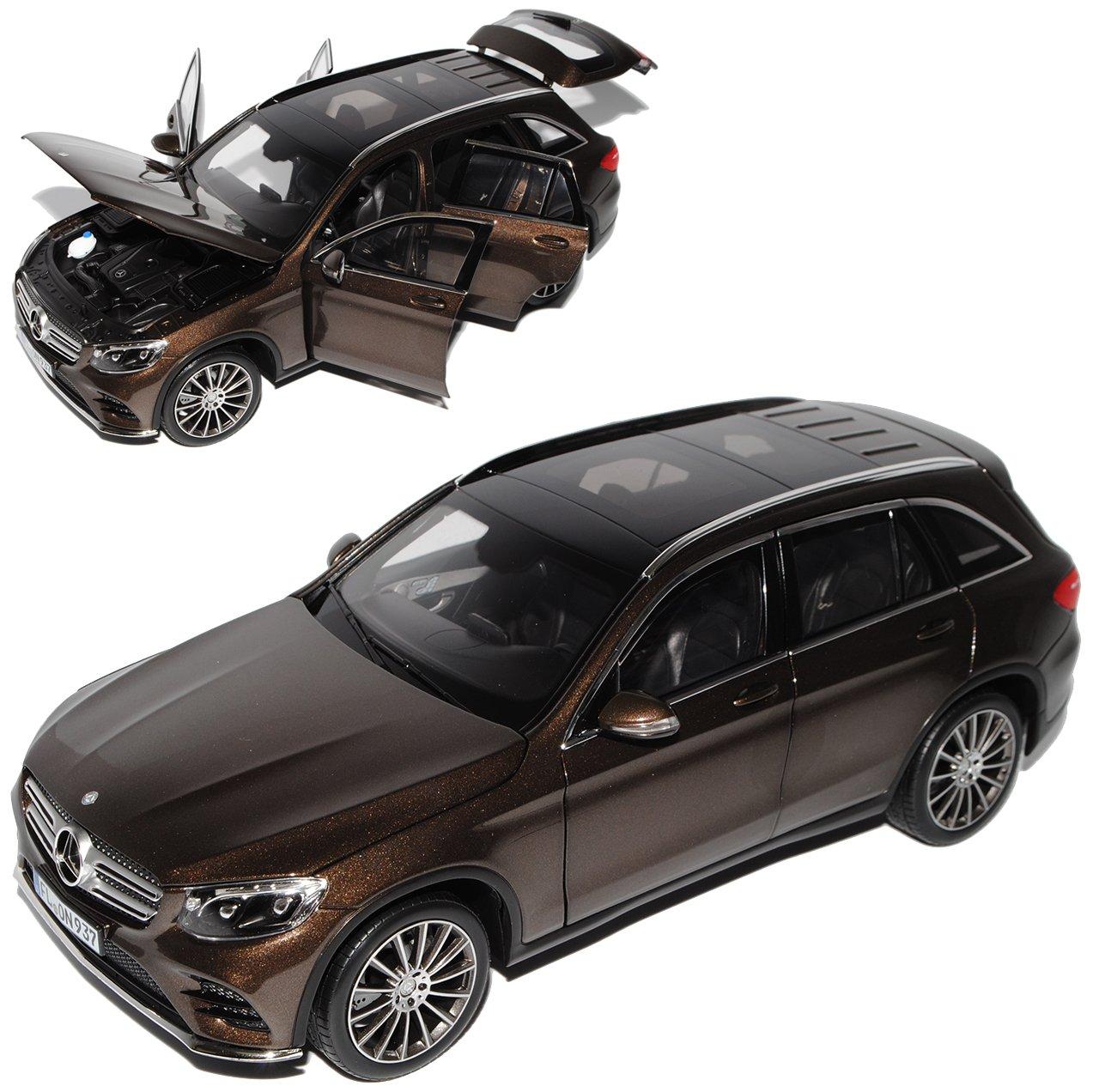 Norev Mercedes-Benz GLC X253 SUV Braun Metallic Ab 2015 1/18 Modell Auto