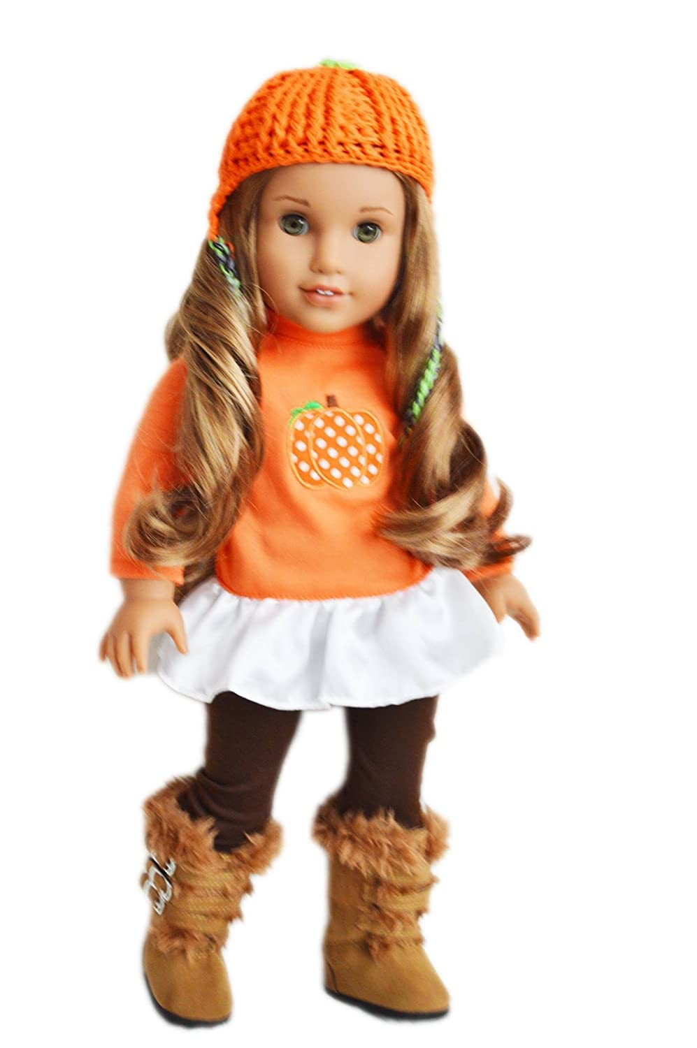 My Brittany's Fall Pumpkin Outfit for American Girl Dolls Brittany' s