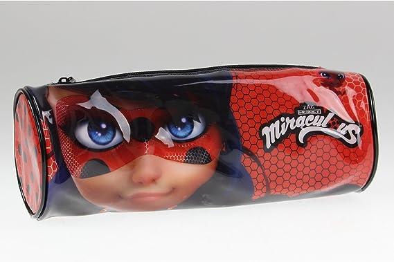 Miraculous 1010PVC-6668 Ladybug - Estuche para lápices: Amazon.es: Juguetes y juegos