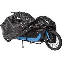M-Wave Unisex - Cargo fietsgarage voor volwassenen, extra, eensporige bagagedragers, fietsbescherming, duurzaam dekzeil…