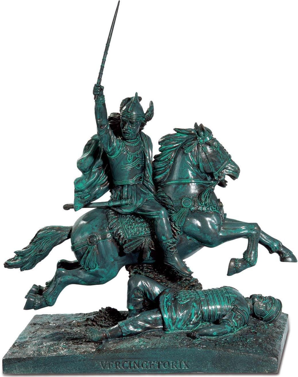 RE0165 Statue Vercingetorix A Cheval par Frederic Auguste Bartholdi Katerina Prestige