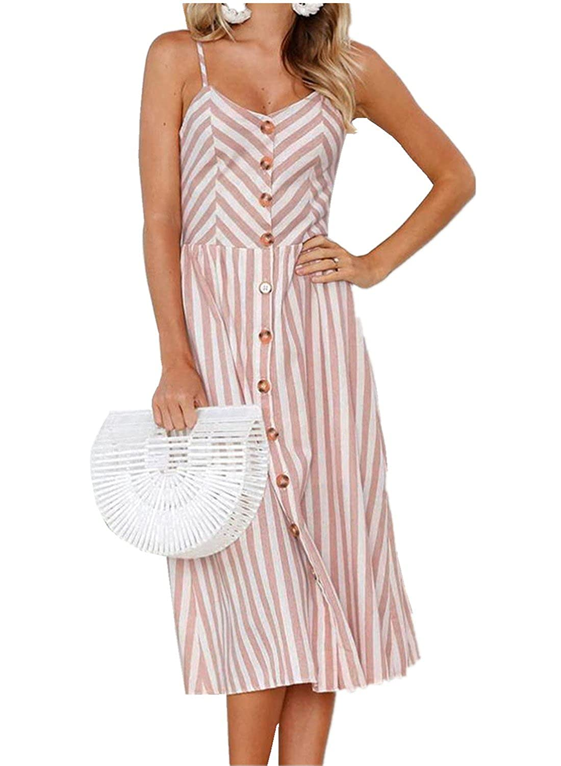 0c663398eb4 Sunward 2018 Womens Spaghetti Strap Summer Beach Sundresses