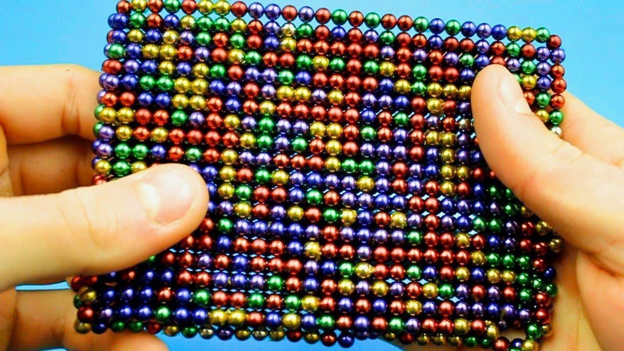 'Ballon de plusieurs couleurs: 100boules 5mm magnétique