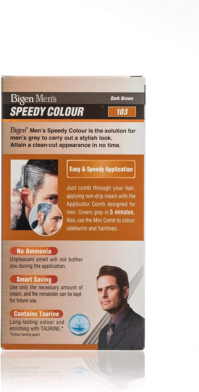 Bigen Mens Speedy Colour (marrón oscuro)