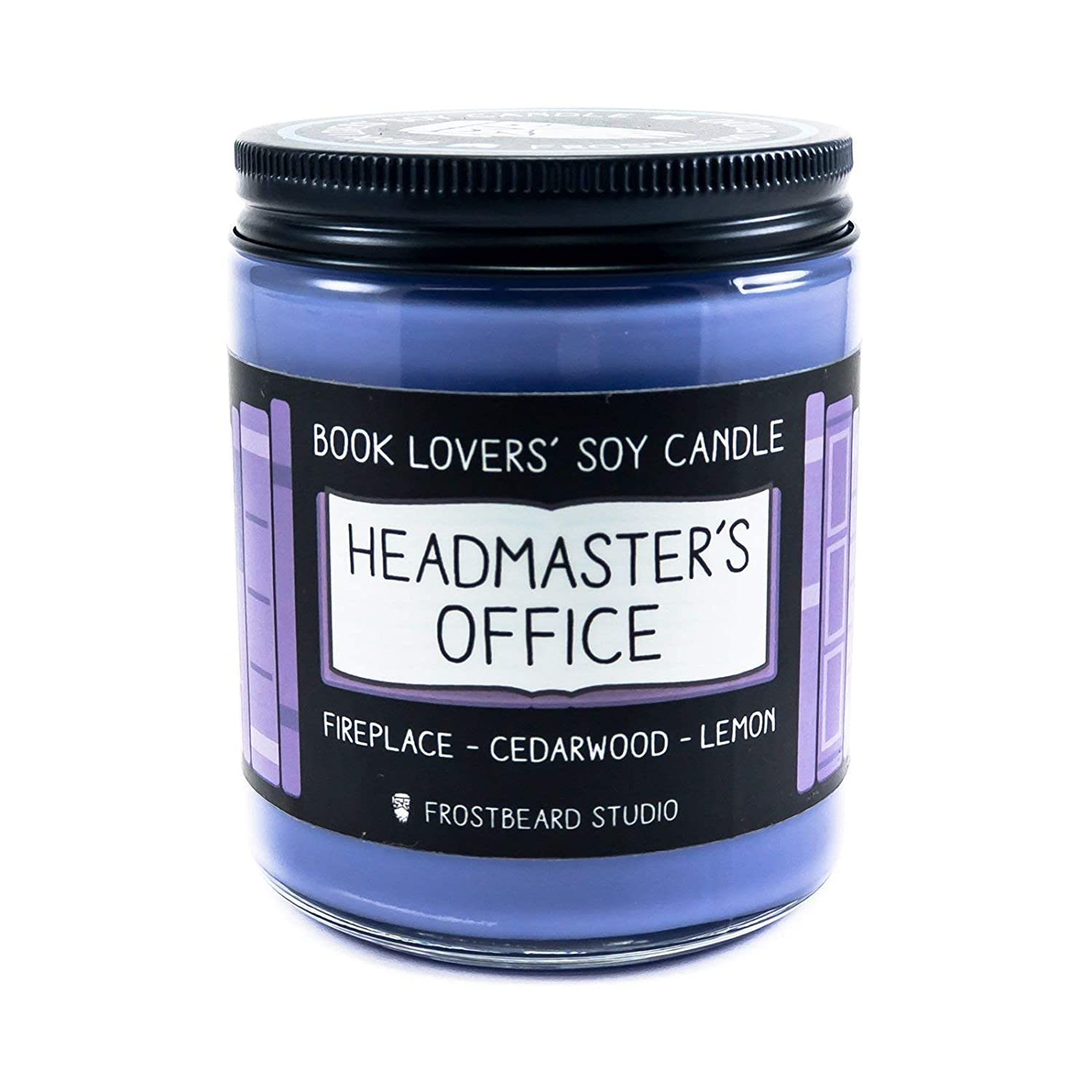 Headmaster's Office - Book Lovers' Soy Candle - 8oz Jar