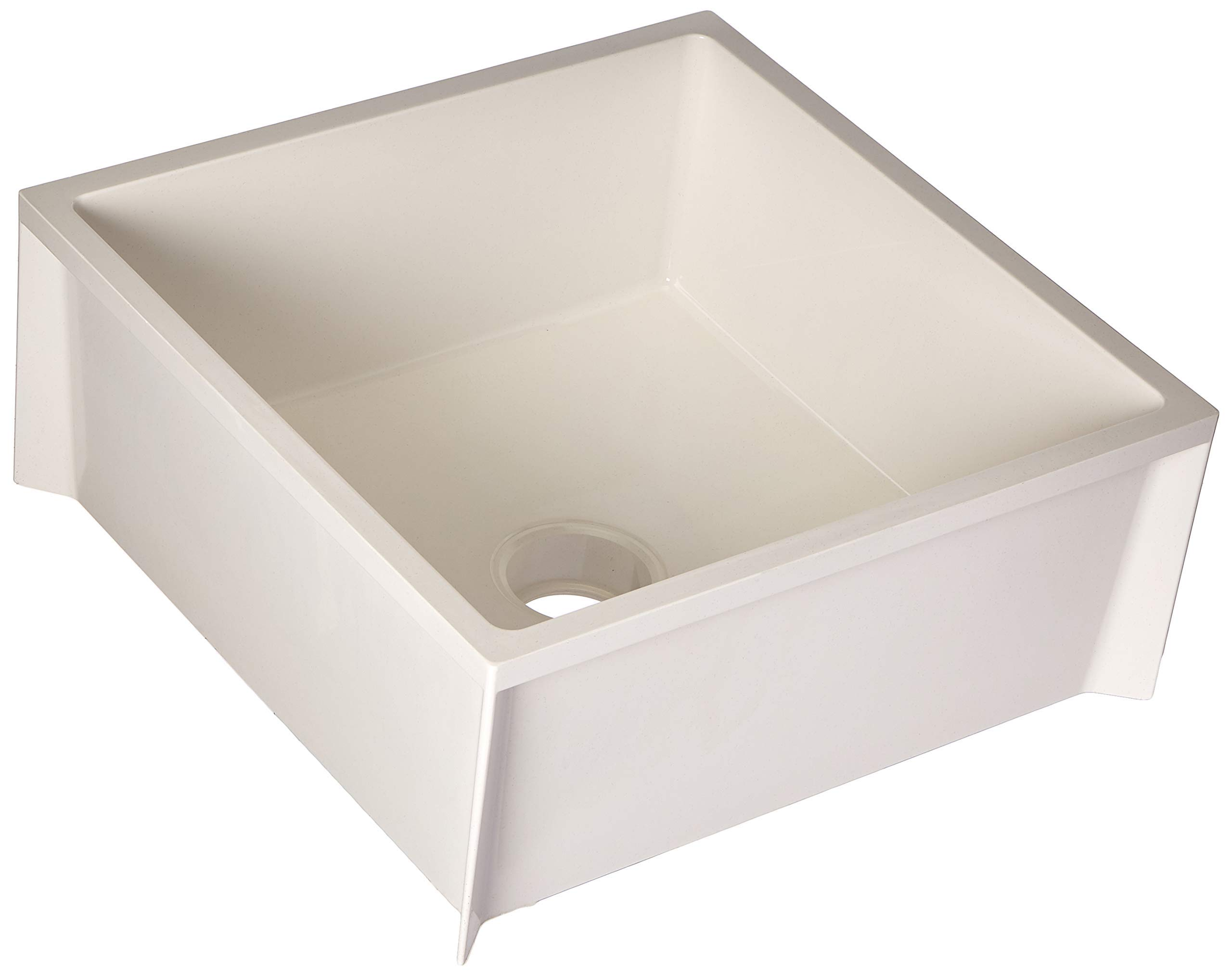 Mustee 63M Durastone Material Mop Sink, White (Renewed)