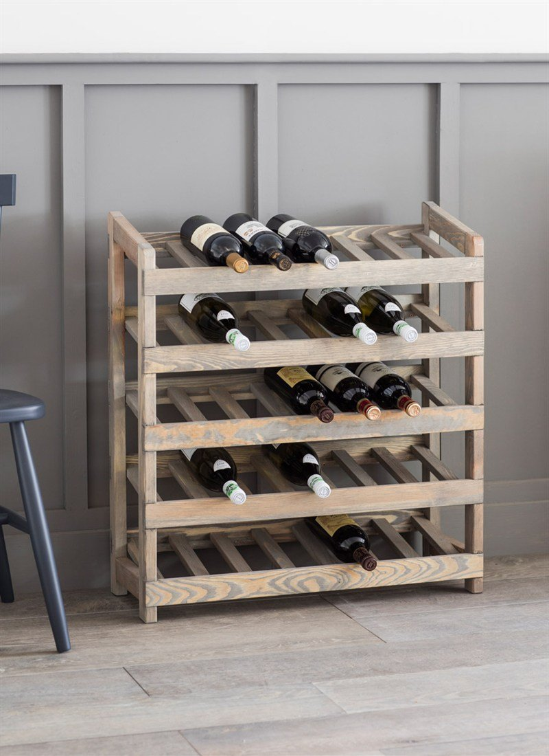 Meuble rangement Bouteilles de vin design pas cher