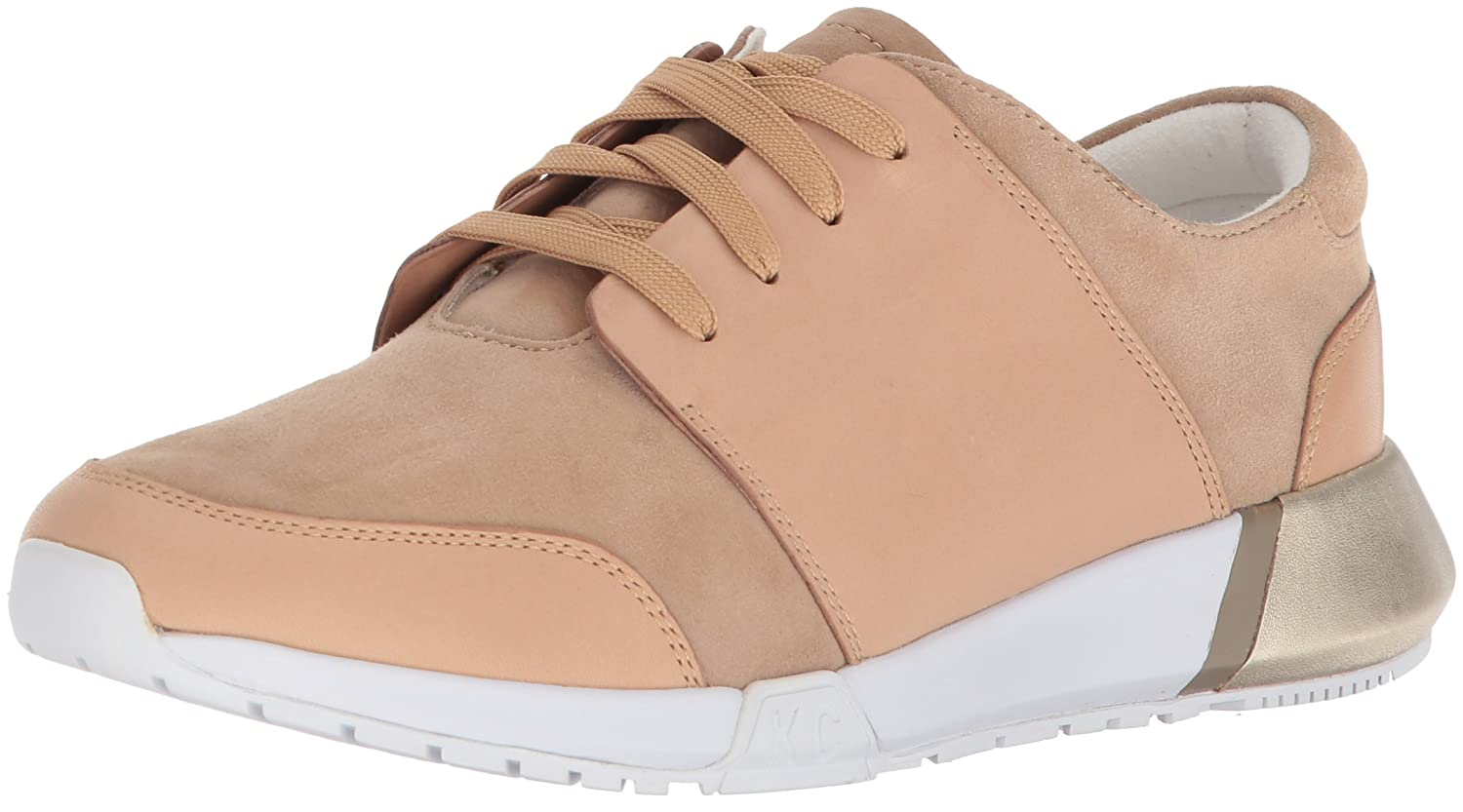 Kenneth Cole New York Women's Sumner Lace-up Jogger Sneaker B0794Y69FR 7.5 B(M) US|Café