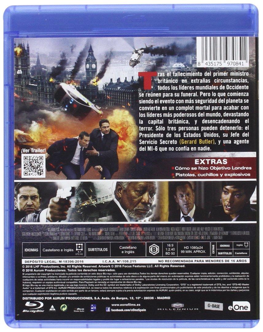 Amazon.com: Objetivo : Londres - London Has Fallen [Non-usa ...