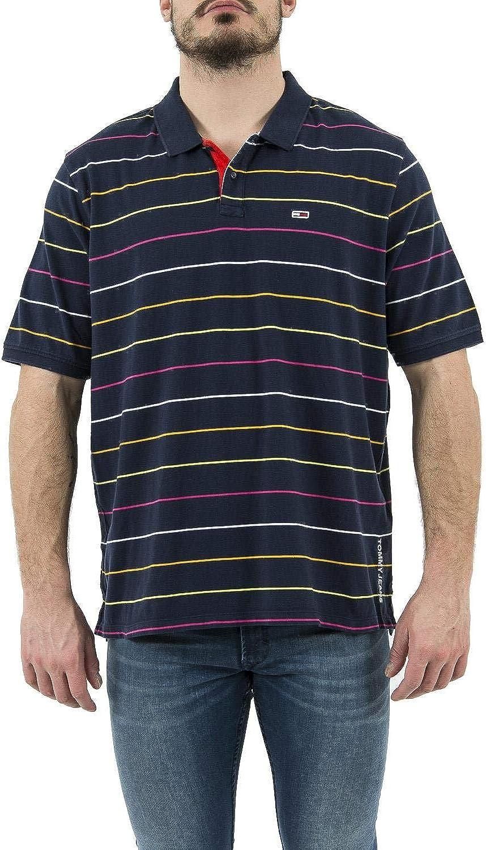 Tommy Jeans Polo Rayas Marino Hombre XXL Marino: Amazon.es: Ropa y ...