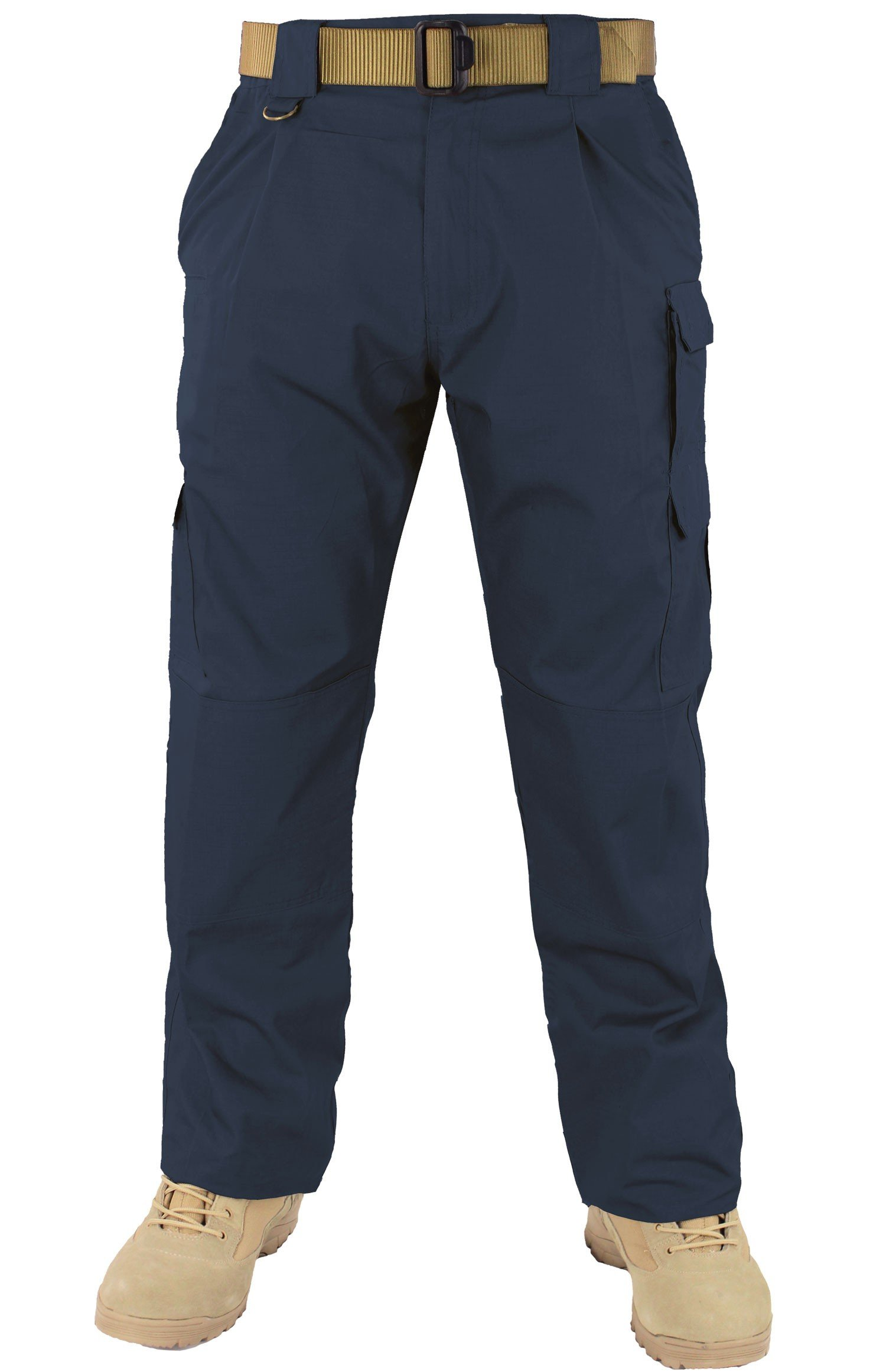 First Class Tactical Training Men's Trousers (38W/32L, Navy Blue)