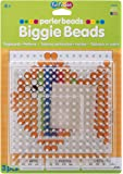 Perler 70712 Beads Clear Large Square Biggie Bead Pegboard 2 Pack