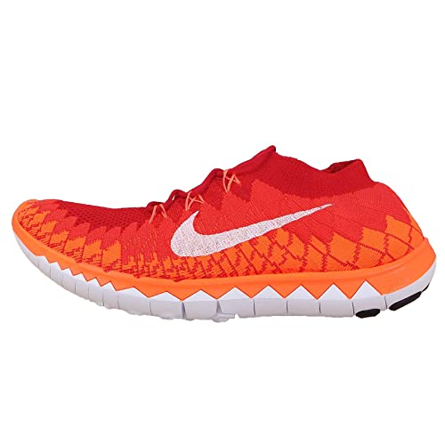 new style da5d3 6eef6 Nike Free Flyknit 3.0 Running Trainers 636232 Sneakers Shoes (UK 9 US 10 EU  44, University red White Bright Citron Total 600)  Amazon.ca  Shoes    Handbags