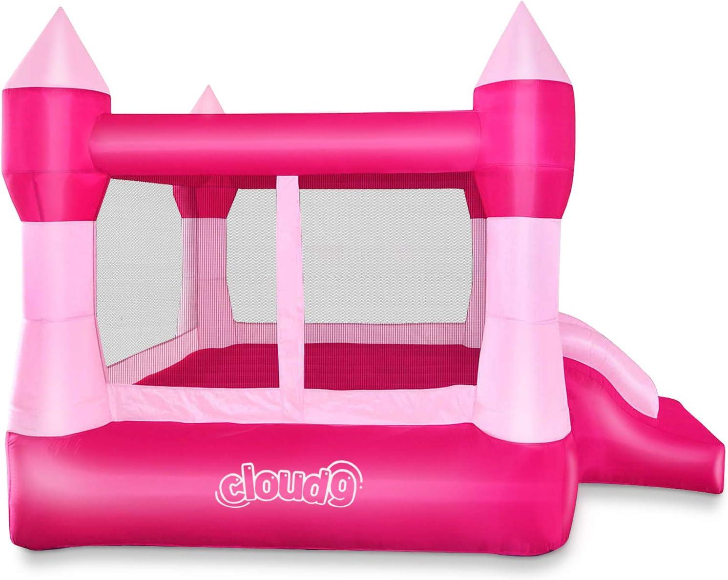 Amazon.com: Casa inflable de princesa Cloud 9, tema de ...