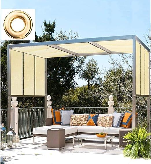 YUDEYU Boutique De Múltiples Fines Protector Solar Red De Sombreado Jardín Balcón Aislamiento Sombra Enfriarse (Color : Beige, Size : 4x7m): Amazon.es: Hogar