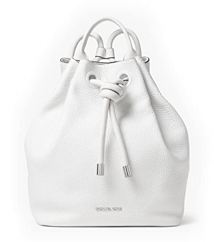 234724f1ef10 MICHAEL Michael Kors Dalia Large Leather Backpack in Optic White   Amazon.co.uk  Shoes   Bags