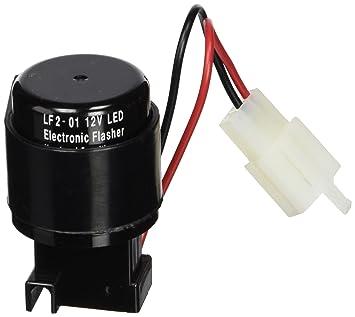 Puig 4823N Relé de 2 Pins para Intermitentes de LEDs, Color Negro