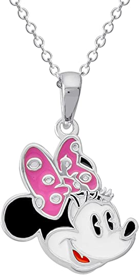 Sterling Silver Mouse Pendant on Sterling Silver Chain.