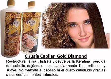 Amazon.com : Cirugía Capilar Gold Diamond Oro Y Diamante 1 Litro : Everything Else