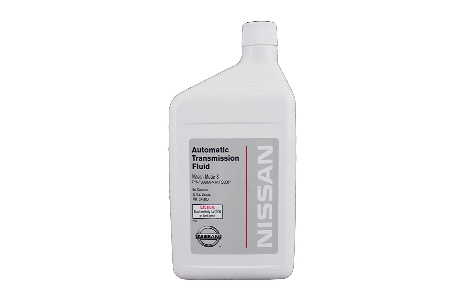 Genuine Nissan Fluid 999MP-MTS00P Nissan Matic-S Automatic Transmission Fluid - 1 Quart