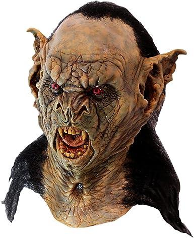 Vieja Máscara Facial 2 piezas dar Máscara movimiento Scary Halloween Horror