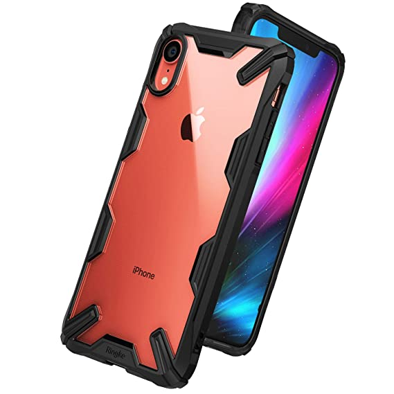 finest selection 4ffba 92d58 Ringke Fusion X Designed for iPhone XR Case PC TPU Rugged Protective Phone  Case Cover for iPhone 10R (6.1