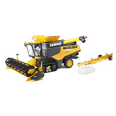 Bruder 02118 Claas Lexion 780 Combine Harvester, Realistic Farm Harvesting Tractor Toy, Yellow: Toys & Games [5Bkhe0803210]