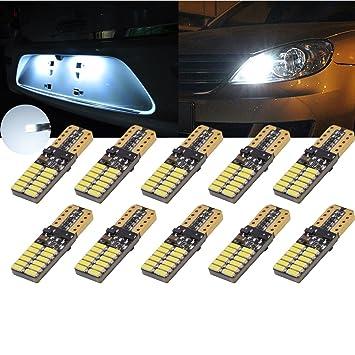 TUINCYN - Paquete de dos luces de 12V~24V y 5W para matrícula