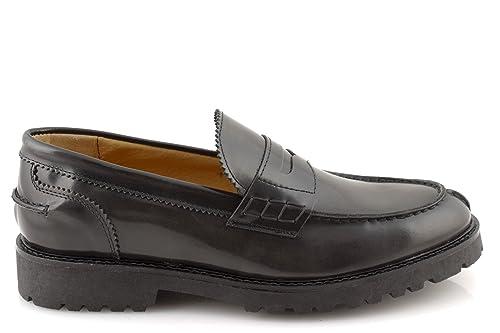 damalu Mocasines College hombre zapatos eleganti maletín clásico mocasín College Piel abrasivata italianas: Amazon.es: Zapatos y complementos