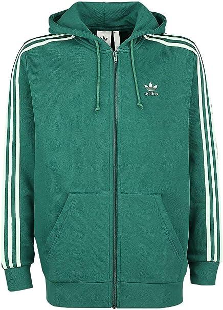 Sweatshirt à capuche adidas Fz 3 stripe