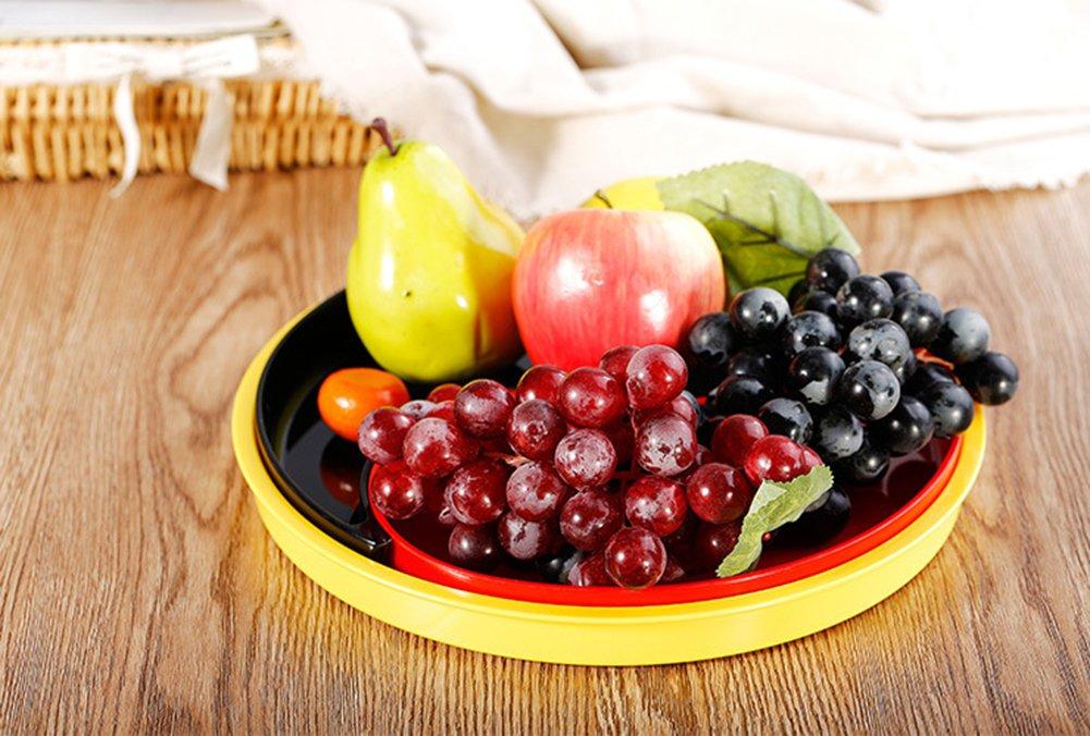 bestwoohome conjunto de tuercas y frutos secos bandeja aperitivo bandeja de melamina con tapa extraíble: Amazon.es: Hogar