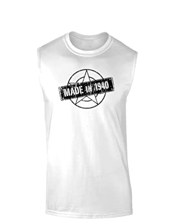 Made In 1940 Muscle Shirt at Amazon Men's Clothing store